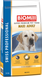 BiOMill Prof. Maxi Adult Chicken 12kg* kuře