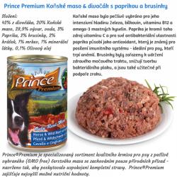 Prince 100% Natural Diet 400g - čistě přírodní masová konzerva v