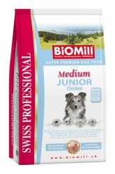 BiOMill Prof. Medium Junior  Chicken 12kg