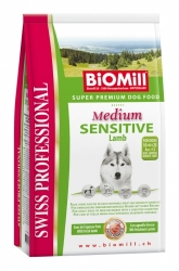 BiOMill Swiss Prof. Medium Sensitive Lamb