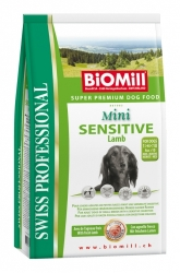 BiOMill Prof. Mini Sensitive Lamb&Rice 1kg - Jehněčí s rýží