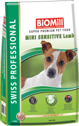 BiOMill Prof. Mini Sensitive Lamb 8kg - Jehněčí s rýží