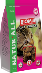 BiOMill CAT SNACK Veal 100 g * telecí