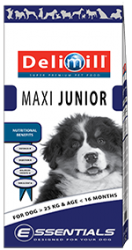Delimill ESSENTIALS MAXI JUNIOR 15KG