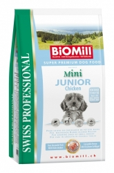 BiOMill Prof. Mini Junior Chicken 8kg