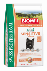 BiOMill Prof. Mini Sensitive Salmon 8kg * Losos s rýží