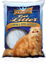 Princess Litter Natural 20kg - hrubé stelivo