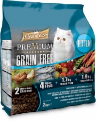 Princess PREMIUM KITTEN grain free 2kg