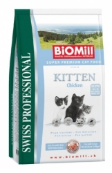 BiOMill Cat Prof. KITTEN CHICKEN