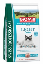 BiOMill Professional Cat Adult LIGHT CHICKEN 1,5kg