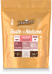 Princess Ultra Premium Taste of Nature SALMON * losos * 0,5 kg