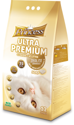 Princess Ultra Premium Cat Litter Zeolite SOAP 12ltr